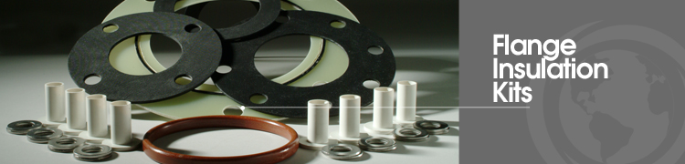 Flange insulation kits sealing selections for
